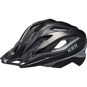 KED Street Pro Helmet Junior Black Anthracite Matt